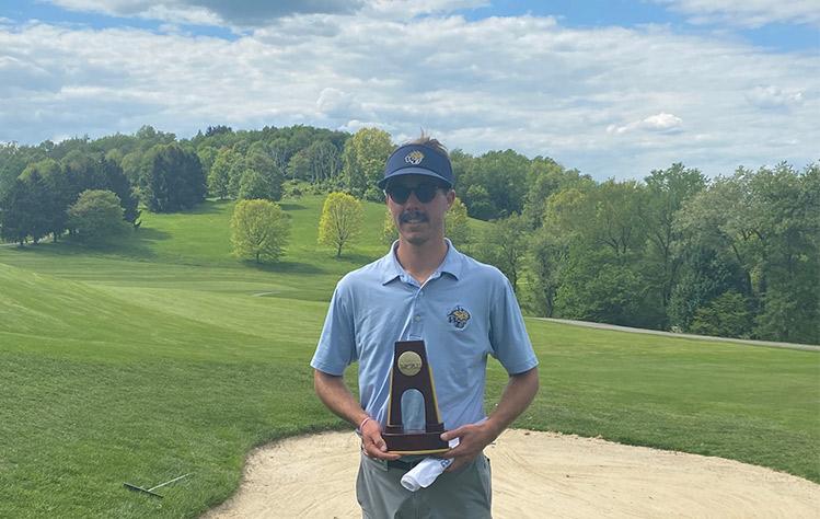 Will Hocker wins the NCAA D-III Golf Championship