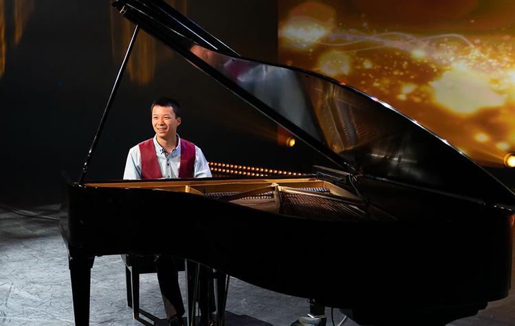 Alex Chen, piano, Community Music School