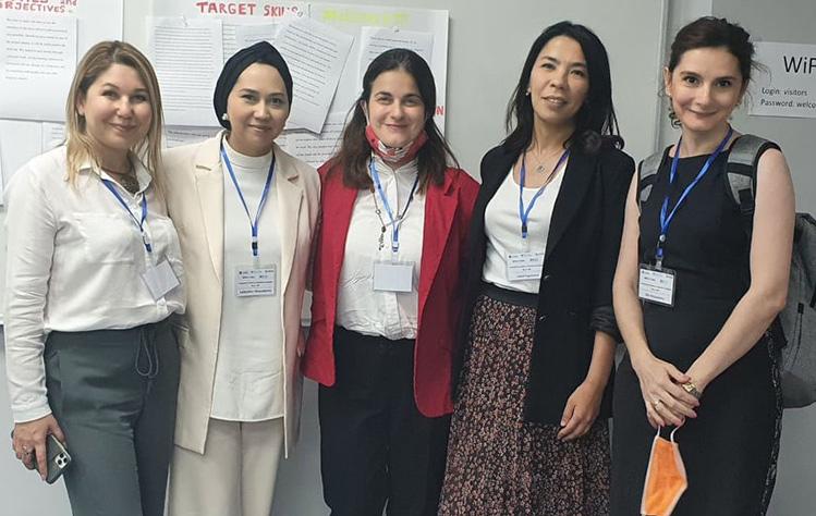 Webster Tashkent faculty members present