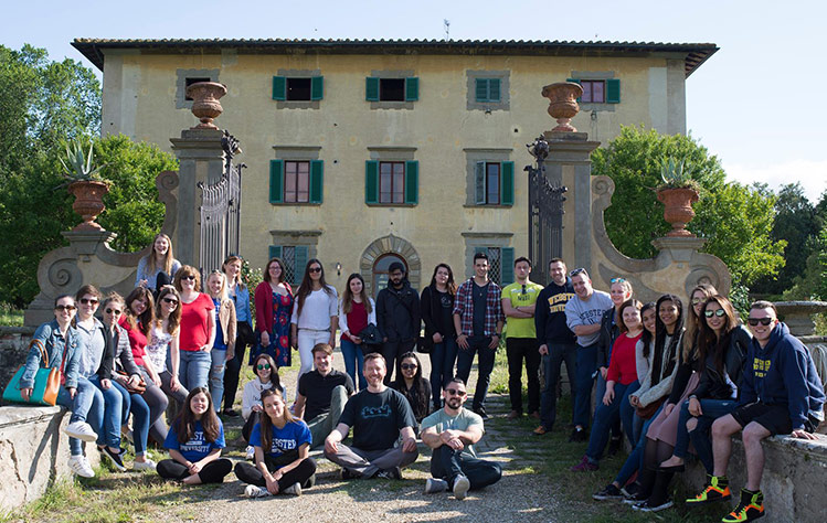 Webster Vienna students in the LEADS program