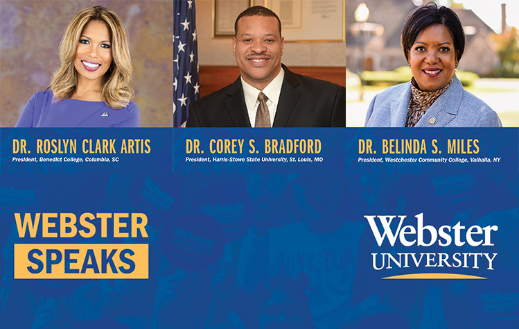 Webster Speaks: Race and Higher Education