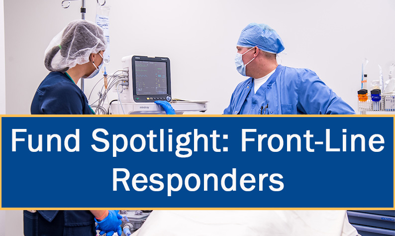 Front-Line Responders Fund recipients