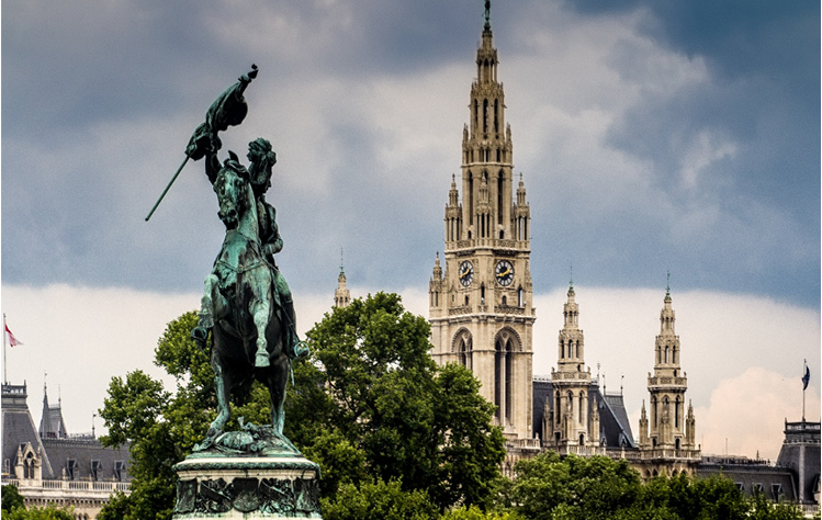 Vienna's history is reflected in its architecture