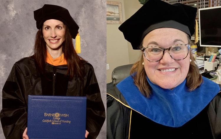 Nursing Faculty complete doctorates