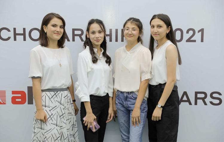 Tashkent scholarship students