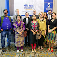 Webster Thailand's Interntational Relations Department Gathers Regional Experts