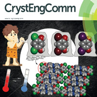 Groeneman and students' paper on thermal expansion earned the cover story for the peer-reviewed journal CrystEngComm.