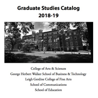 2018-19 Academic Catalogs Finalized