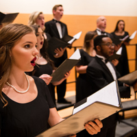 The Chamber Singers will perform choral works from a variety of musical eras.