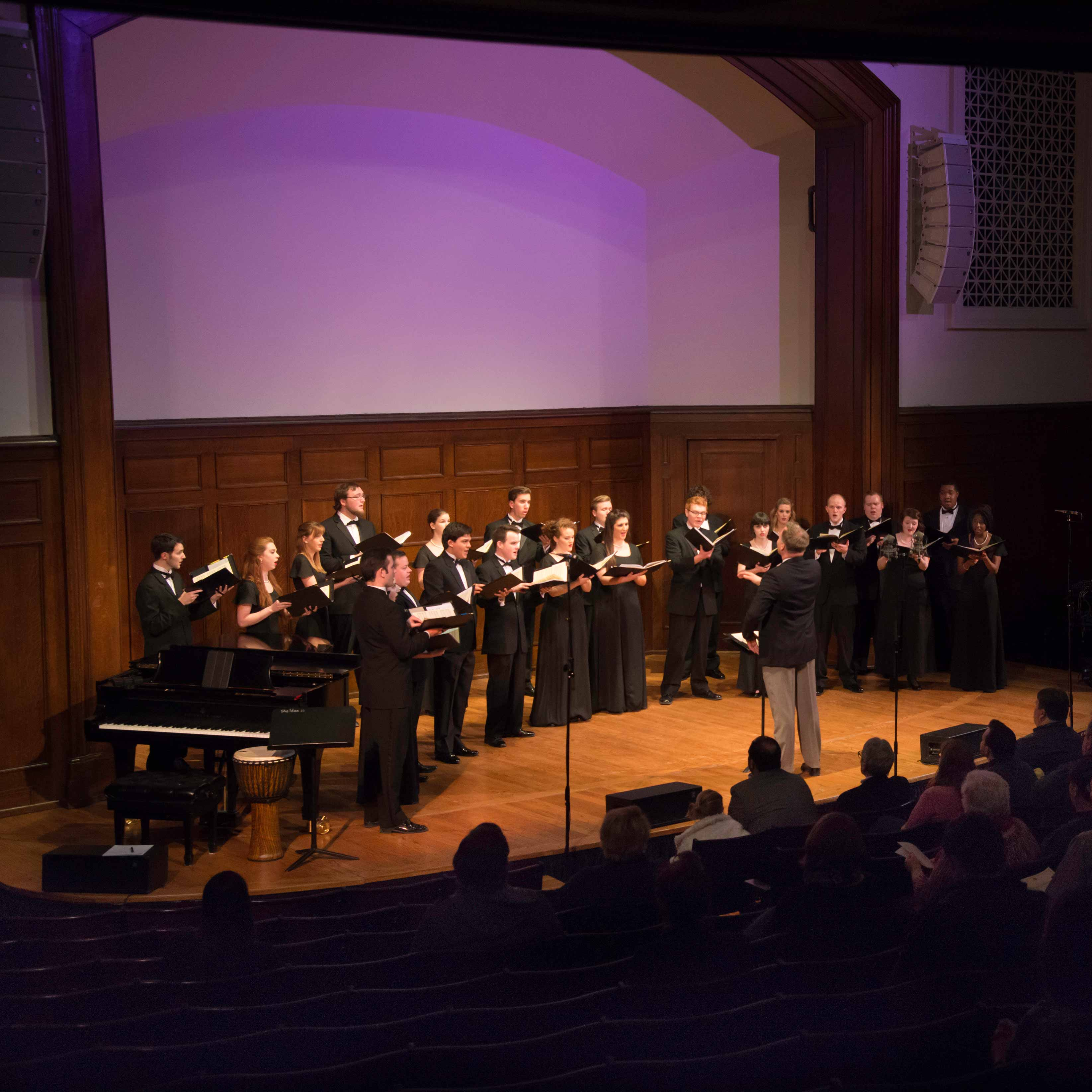 Chamber Singers to Perform with Josh Grobin