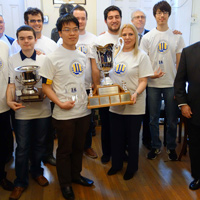 Chess Team Wins Fourth Consecutive National Championship