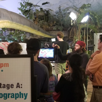 Film Production Faculty, Students Show 'Movie Magic' at Science Center