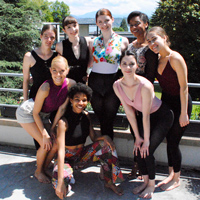Webster students are studying European Contemporary Dance in Geneva as part of a summer abroad program.