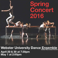 Dance Ensemble Spring Concert with d'Orelans-Juste, Hubler, more