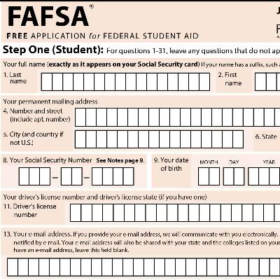 Webster University Joins FAFSA Frenzy