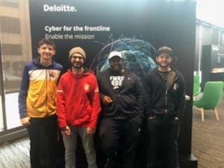 Webster Team Places Third in Deloitte's Cyber Challenge