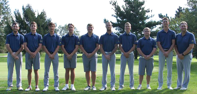 Webster men's golf team 2018-19
