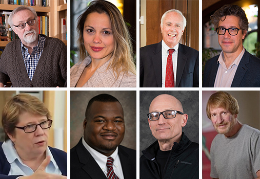 Hear from eight Webster University faculty on global issues.