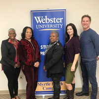 Webster Counseling Students at Myrtle Beach Win ACA Student Ethics Competition