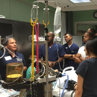 Faculty Member Aids Effort to Increase Diversity in Nurse Anesthesia