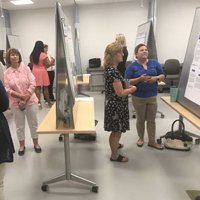 Nursing Students Present Posters for Capstone