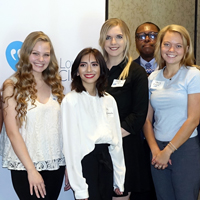 Four Webster Students Win 2019 Press Club Scholarships