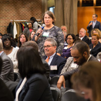 About 200 business and nonprofit leaders, community advocates, and academics gathered.