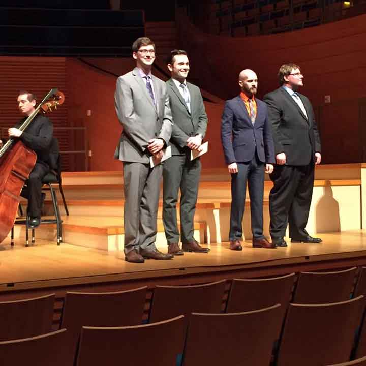 Webster Music Student Wins Regional Conducting Award