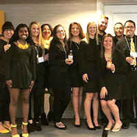 Webster University School of Communications students won first place in the National Student Advertising Competition (NSAC) District 9 regionals.