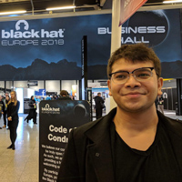 Min Khant Zaw at Black Hat Europe