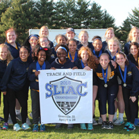 Webster's women's track and field team won an all-academic team award for the fourth time in the last five years.