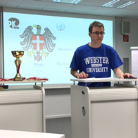 Webster Hosts 1st Vienna Debate Derby