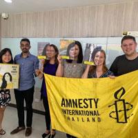 Amnesty International Thailand Hosts MAIR Students