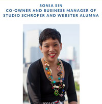 Leiden Spotlight: Alumni Sonia Sin, Co-Owner Studio Schrofer
