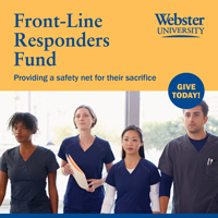 Webster Launches Front-Line Responders Fund in Efforts to Support Global Community