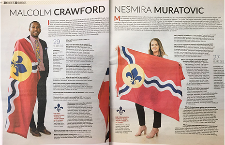Crawford and Muratovic in 30 Under 30