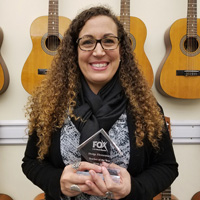 Webster Alumna, Doctoral Student Wins Teacher of the Year for Outstanding Music Education