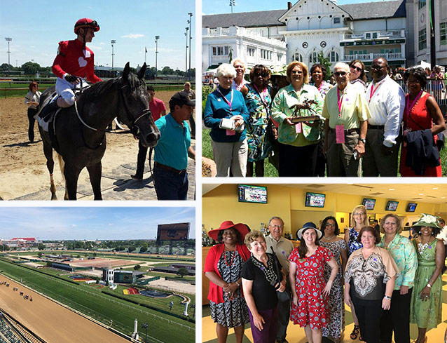 Scenes from Webster's annual event at Churchill Downs