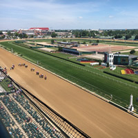 Webster at Churchill Downs: 100 alumni, faculty, staff, Sisters of Loretto gather
