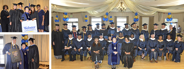 Webster University Commencement - Los Angeles Air Force Base location
