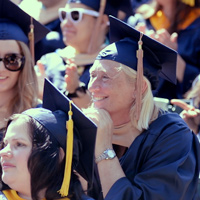 Video: Class of '88 Alumna Gets Long-Awaited Commencement Day