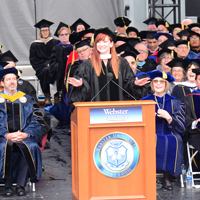 Sullivan at Commencement 2019
