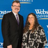 Dean Tony Wallner with Jane Ellen Ibur