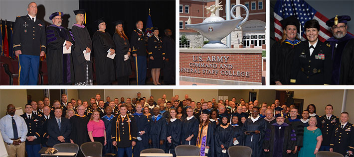 Webster University commencement at Fort Leavenworth