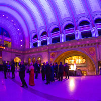 Webster Conservatory students performed as part of the Centennial Gala's entertainment.