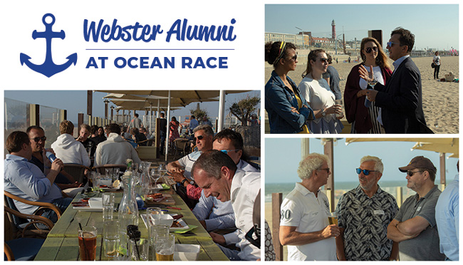 Over two dozen alumni gathered for a memorable event.