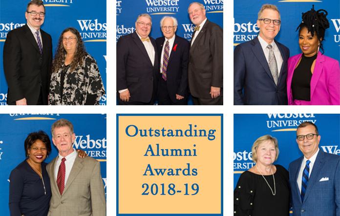 Outstanding Alumni Award recipients 2019