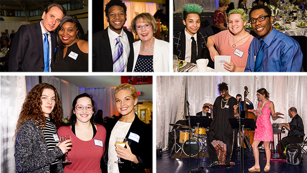 Donors, scholars and friends celebrated support of Webster University students.