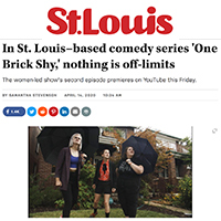 One Brick Shy featured in St. Louis Magazine