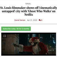 Ghost Who Walks profiled in Post-Dispatch